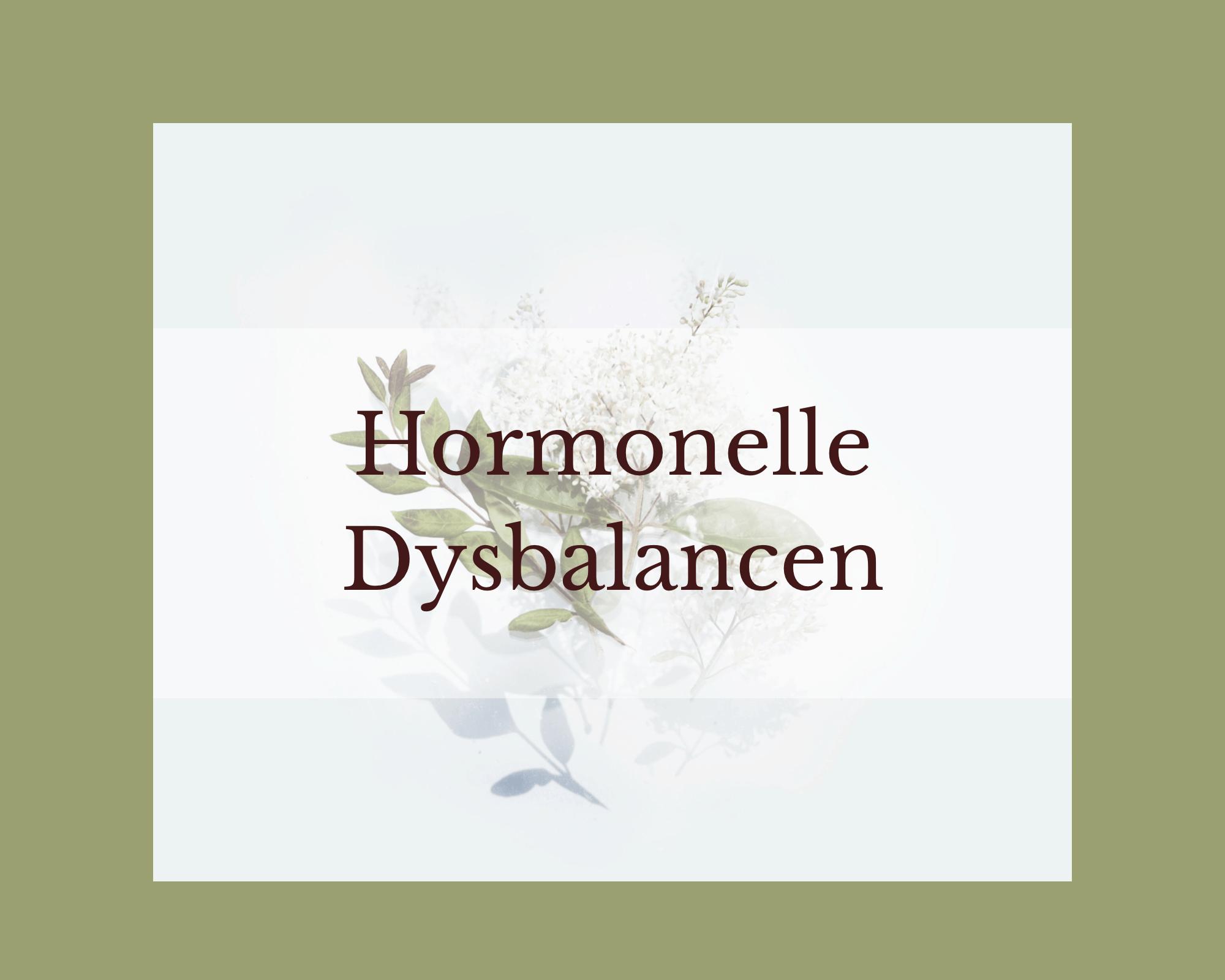natürliche Hormonregulation